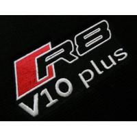 Tapete Audi R8 V10 Preto Luxo