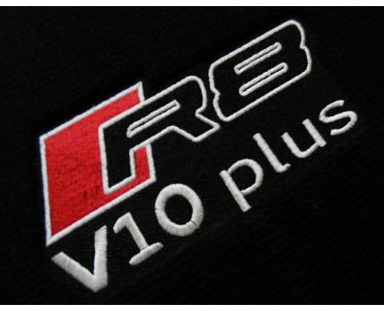 Tapete Audi R8 V10 Preto Luxo (Alfabetoauto) por alfabetoauto.com.br