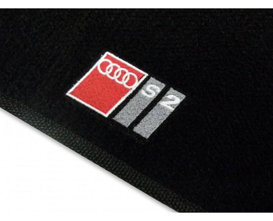 Tapete Audi S2 Preto Luxo (Alfabetoauto) por alfabetoauto.com.br