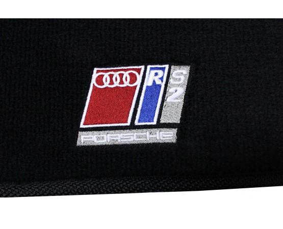 Tapete Audi RS2 Preto Luxo (Alfabetoauto) por alfabetoauto.com.br