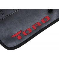 Tapete Fiat Toro Traseiro Inteiriço Preto Borracha