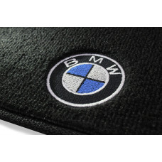 Tapete BMW Serie 1 Preto Luxo