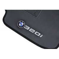 Tapete BMW 320i Preto Borracha