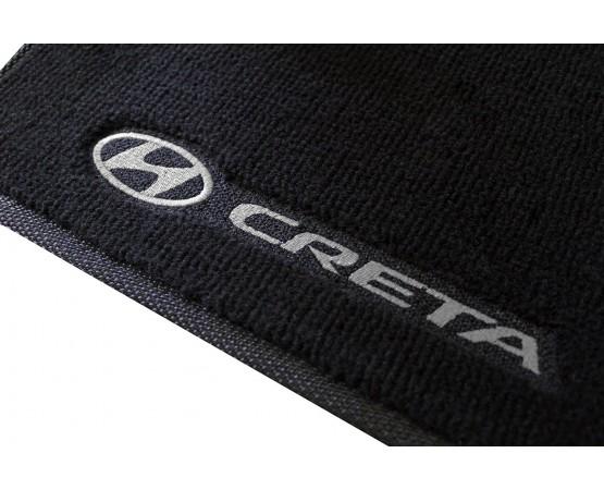 Tapete Hyundai Creta Preto/cinza Luxo (Alfabetoauto) por alfabetoauto.com.br
