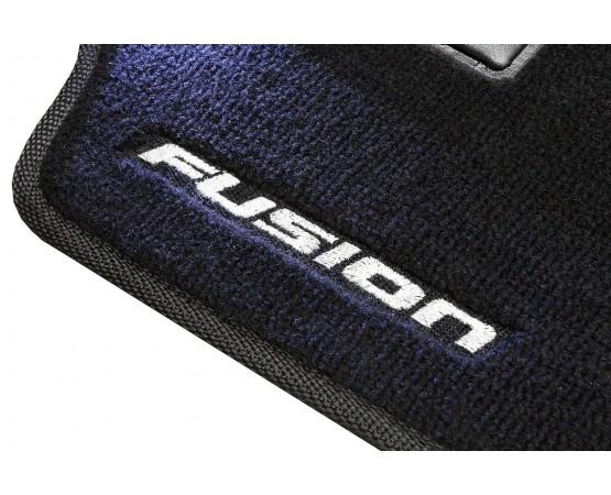 Tapete Ford Novo Fusion Preto Luxo (Alfabetoauto) por alfabetoauto.com.br