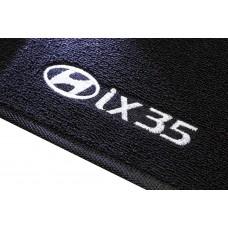 Tapete Hyundai IX35 Traseiro Inteiriço Boucle Preto