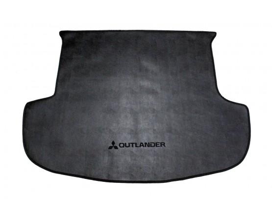 Tapete Porta Malas Mitsubishi Outlander Preto Borracha (Alfabetoauto) por alfabetoauto.com.br