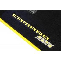 Tapete Chevrolet Camaro SS Preto/amarelo Luxo