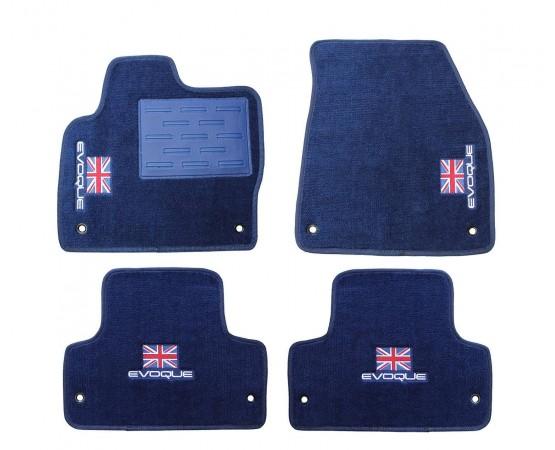 Tapete Land Rover Range Rover Evoque Azul Marinho Luxo (Alfabetoauto) por alfabetoauto.com.br