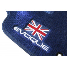 Tapete Land Rover Range Rover Evoque Azul Marinho Luxo