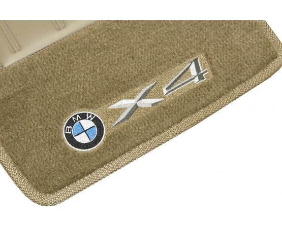 Tapete BMW X4 + Túnel Caramelo Luxo (Alfabetoauto) por alfabetoauto.com.br