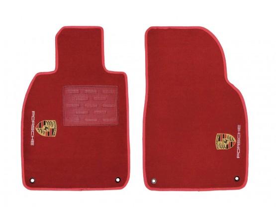 Tapete Porsche Boxster Vermelho Luxo (Alfabetoauto) por alfabetoauto.com.br