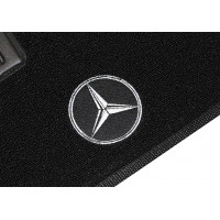 Tapete Mercedes Benz Classe C Preto Boucle