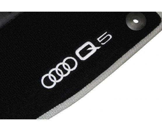 Tapete Audi Nova Q5 2018 Preto/cinza Luxo (Alfabetoauto) por alfabetoauto.com.br