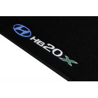 Tapete Hyundai HB20x Preto Luxo