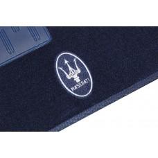 Tapete Maserati Quattroporte Azul Marinho Luxo