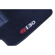 Tapete Hyundai I30 Azul Marinho Luxo