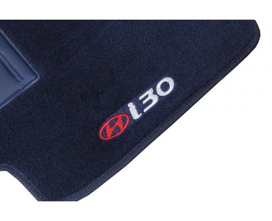 Tapete Hyundai I30 Azul Marinho Luxo (Alfabetoauto) por alfabetoauto.com.br