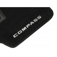 Tapete Jeep Compass Até 2015 Preto Luxo