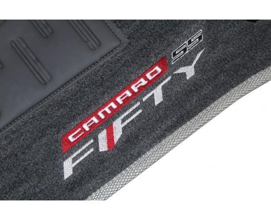 Tapete Chevrolet Camaro Fifty Grafite Luxo