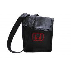 Lixeirinha Honda Com Alça Ajustável Preto