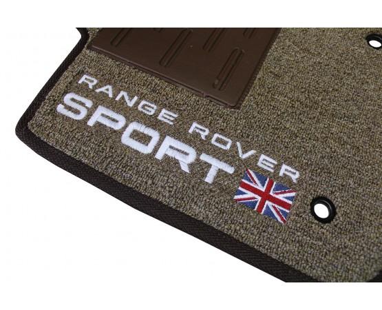 Tapete Land Rover Range Rover Sport Marrom Mesclado Boucle (Alfabetoauto) por alfabetoauto.com.br