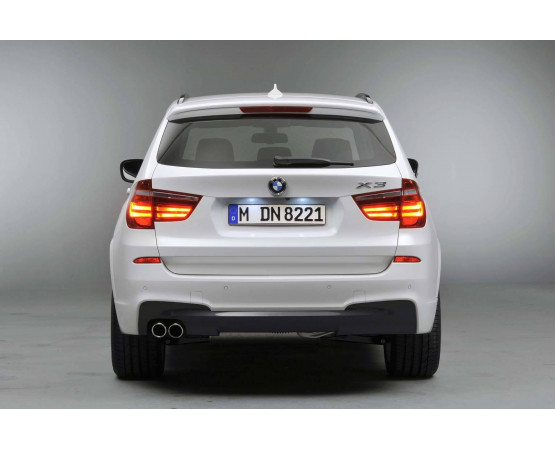 Ponteira de Escapamento Inox BMW Serie 3 (Alfabetoauto) por alfabetoauto.com.br