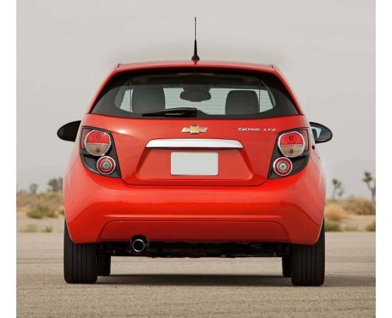 Ponteira de Escapamento Inox Chevrolet Sonic (Alfabetoauto) por alfabetoauto.com.br