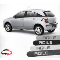 Friso Lateral Personalizado Chevrolet Agile