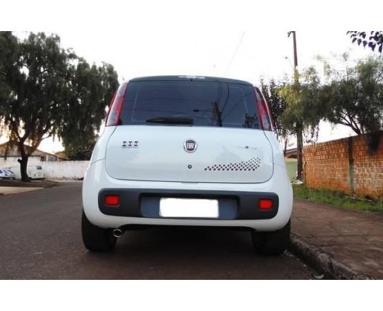 Ponteira de Escapamento Inox Novo Fiat Uno (Alfabetoauto) por alfabetoauto.com.br