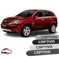 Friso Lateral Personalizado Chevrolet Captiva