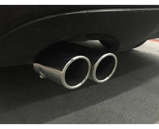 Ponteira de Escapamento Inox Mercedes Benz C180 (Alfabetoauto) por alfabetoauto.com.br