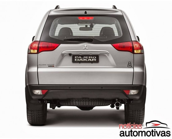 Ponteira de Escapamento Inox Mitsubishi Pajero Dakar (Alfabetoauto) por alfabetoauto.com.br