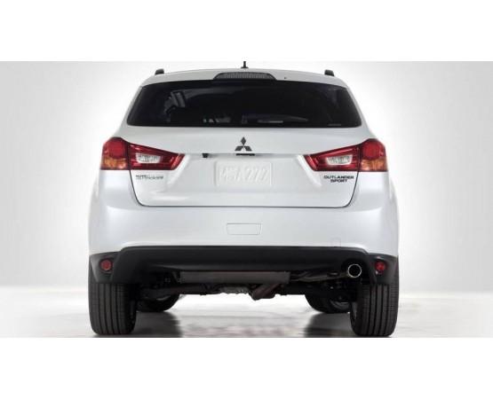 Ponteira de Escapamento Inox Mitsubishi Outlander Nova (Alfabetoauto) por alfabetoauto.com.br