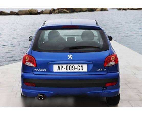Ponteira de Escapamento Inox Peugeot 206 (Alfabetoauto) por alfabetoauto.com.br