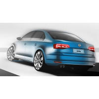 Ponteira de Escapamento Volkswagen Novo Jetta