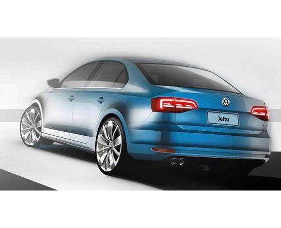 Ponteira de Escapamento Inox Volkswagen Novo Jetta (Alfabetoauto) por alfabetoauto.com.br