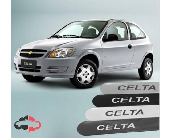 Friso Lateral Personalizado Chevrolet Celta (Alfabetoauto) por alfabetoauto.com.br