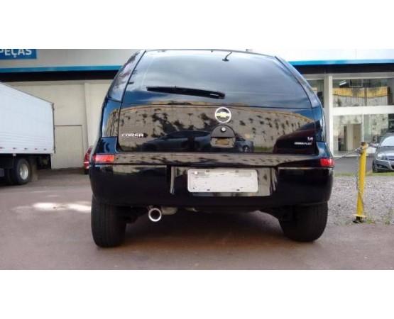 Ponteira de Escapamento Inox Chevrolet Corsa Hatch (Alfabetoauto) por alfabetoauto.com.br