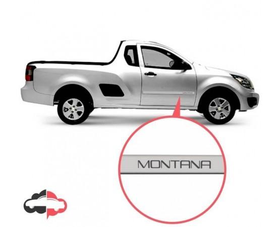 Friso Lateral Personalizado Chevrolet Montana (Alfabetoauto) por alfabetoauto.com.br