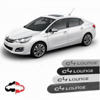 Friso Lateral Personalizado Citroen C4 Lounge