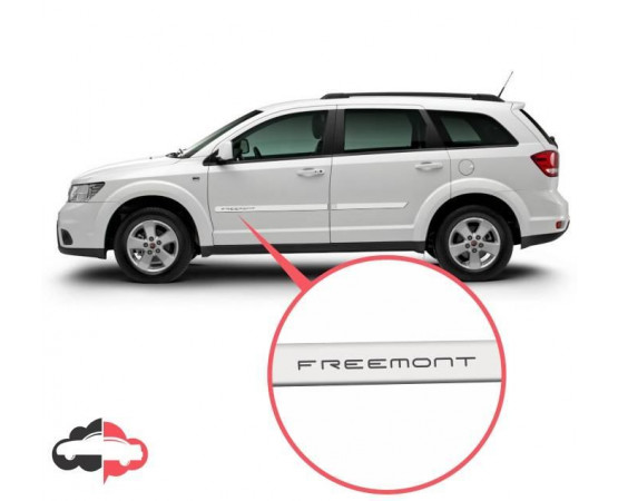 Friso Lateral Personalizado Fiat Freemont
