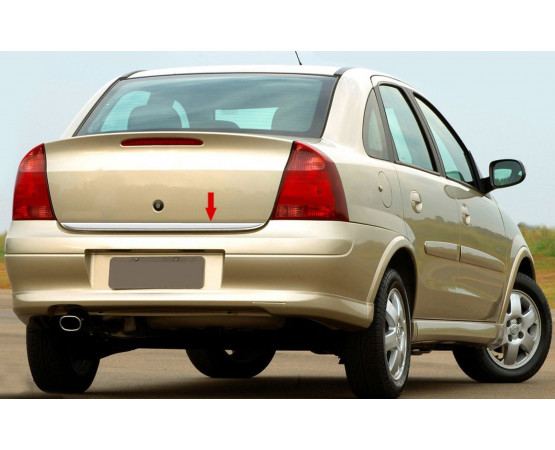 Friso Porta Malas Corsa Sedan 03 (NP Adesivos e Resinagem) por alfabetoauto.com.br