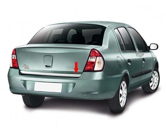 Friso Porta Malas Clio Sedan06 (NP Adesivos e Resinagem) por alfabetoauto.com.br