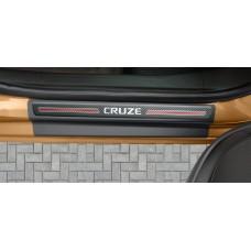 Soleira Premium Chevrolet Carbono 4P Cruze