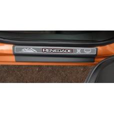 Soleira Premium Carbono 4P Renegade