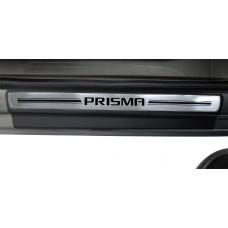 Soleira Premium Aço Escovado 4P Prisma