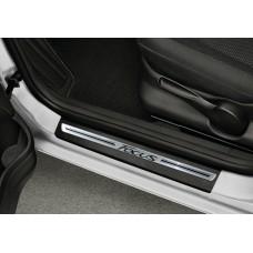Soleira Premium Aço Escovado 4P Focus 2014