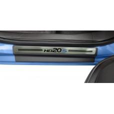 Soleira Premium Aço Escovado 4P Hb20S