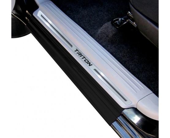 Soleira Premium Aço Escovado 4P Triton